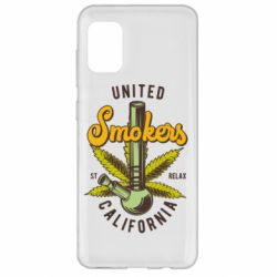 Чохол для Samsung A31 United smokers st relax California