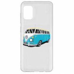 Чехол для Samsung A31 Vector Volkswagen Bus