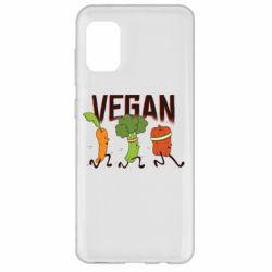 Чохол для Samsung A31 Веган овочі