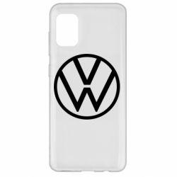 Чехол для Samsung A31 Volkswagen new logo