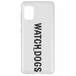 Чехол для Samsung A31 Watch Dogs text