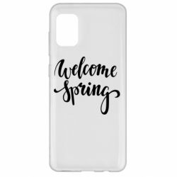 Чохол для Samsung A31 Welcome spring