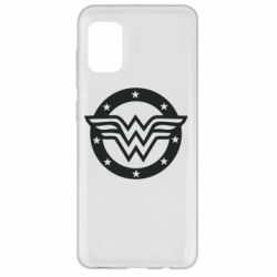 Чехол для Samsung A31 Wonder woman logo and stars
