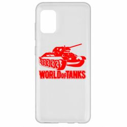 Чехол для Samsung A31 World Of Tanks Game