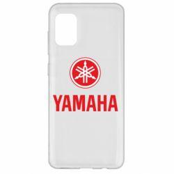 Чехол для Samsung A31 Yamaha Logo(R+W)