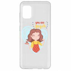 Чохол для Samsung A31 You are super girl
