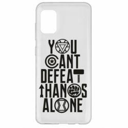 Чехол для Samsung A31 You can't defeat thanos alone