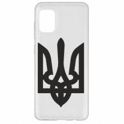Чехол для Samsung A31 Жирный Герб Украины