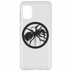 Чехол для Samsung A31 Жирный муравей
