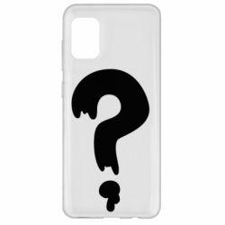 Чехол для Samsung A31 Знак Вопроса