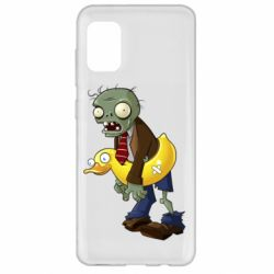 Чехол для Samsung A31 Zombie with a duck