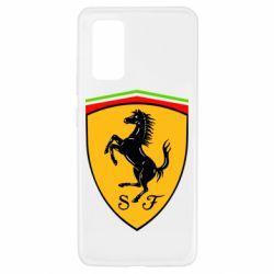 Чехол для Samsung A32 4G Ferrari