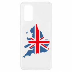 Чехол для Samsung A32 4G Флаг Англии