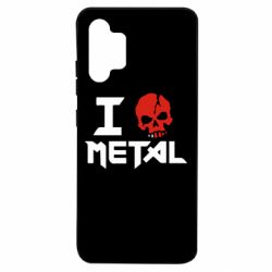 Чехол для Samsung A32 4G I love metal