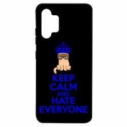 Чехол для Samsung A32 4G KEEP CALM and HATE EVERYONE