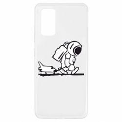 Чехол для Samsung A32 4G Космонавт