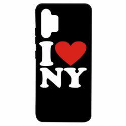 Чехол для Samsung A32 4G Люблю Нью Йорк