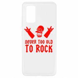 Чехол для Samsung A32 4G Never old to rock (Gomer)