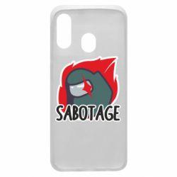 Чохол для Samsung A40 Among Us Sabotage