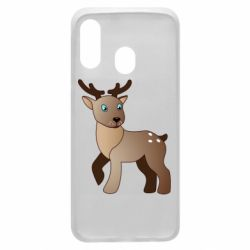 Чехол для Samsung A40 Cartoon deer