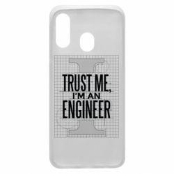 Чохол для Samsung A40 Довірся мені я інженер