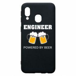 Чохол для Samsung A40 Engineer Powered By Beer