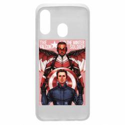 Чохол для Samsung A40 Falcon and the Winter Soldier Art