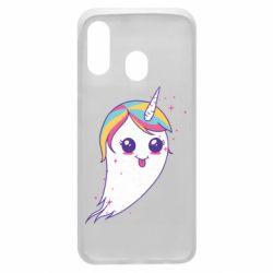 Чохол для Samsung A40 Ghost Unicorn