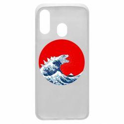 Чохол для Samsung A40 Godzilla Wave