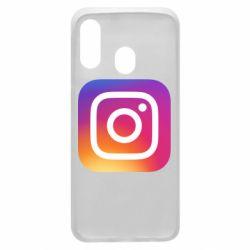 Чохол для Samsung A40 Instagram Logo Gradient