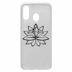 Чохол для Samsung A40 Lotus yoga