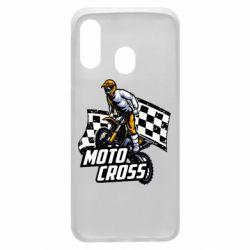 Чехол для Samsung A40 Motocross