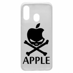 Чехол для Samsung A40 Pirate Apple