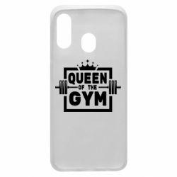 Чохол для Samsung A40 Queen Of The Gym