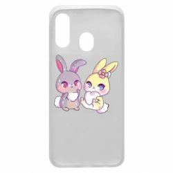 Чохол для Samsung A40 Rabbits In Love