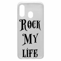 Чехол для Samsung A40 Rock my life