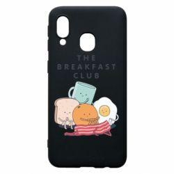 Чохол для Samsung A40 The breakfast club