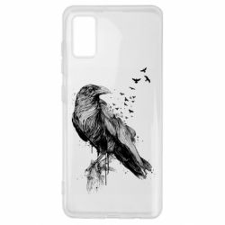 Чохол для Samsung A41 A pack of ravens