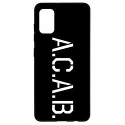 Чохол для Samsung A41 A.C.A.B.