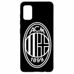Чохол для Samsung A41 AC Milan logo