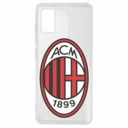 Чохол для Samsung A41 AC Milan