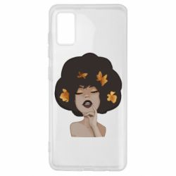 Чохол для Samsung A41 Afro girl in autumn shades
