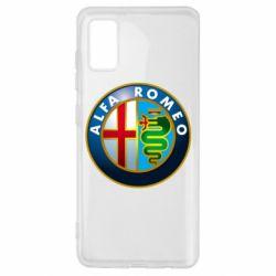 Чехол для Samsung A41 ALFA ROMEO