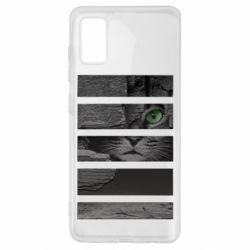 Чехол для Samsung A41 All seeing cat