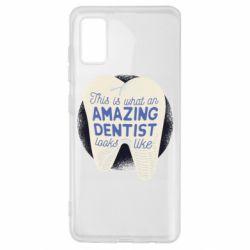 Чохол для Samsung A41 Amazing Dentist