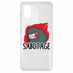 Чохол для Samsung A41 Among Us Sabotage