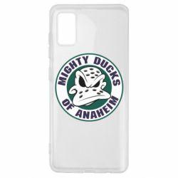 Чехол для Samsung A41 Anaheim Mighty Ducks Logo