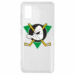 Чехол для Samsung A41 Anaheim Mighty Ducks
