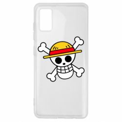 Чохол для Samsung A41 Anime logo One Piece skull pirate
