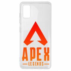 Чохол для Samsung A41 Apex legends gradient logo